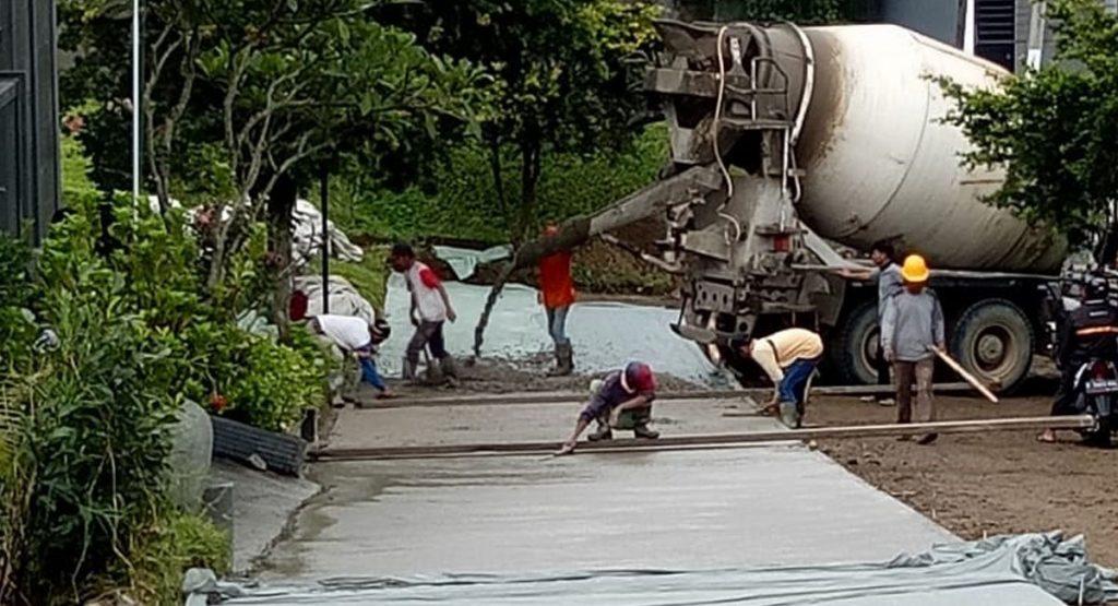 cor jalan beton - jasa cor bandung - jasa cor cimahi -Besi Bangunan - Drymix - Hotmix - Beton - Cor - Reng Baja Ringan - Alat Berat - Wiremash - Beton - Baja Ringan